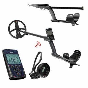 Металотърсач XP DEUS V5 X35 с 22.5см + дистанционно + безжични слушалки WS4