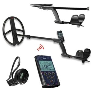 Металотърсач XP DEUS V5 X35 с 34х28см + дистанционно + безжични слушалки WS4