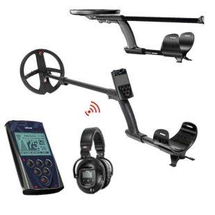 Металотърсач XP DEUS V5 X35 с 22.5см + дистанционно + безжични слушалки WS5