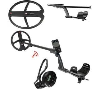 Металотърсач XP DEUS V5 X35 с 22.5см + 34х28см + безжични слушалки WS4