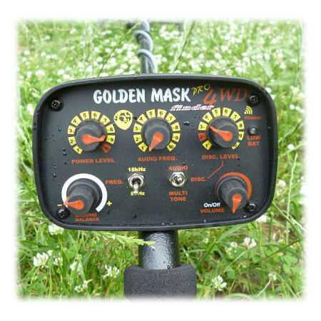 Металотърсач GoldenMask 4D 8-18Khz