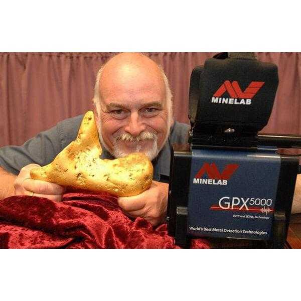 Металотърсач за злато Minelab GPX 5000 с 2 сонди