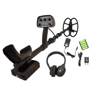 Металотърсач GoldenMask 4 PROS 18Khz сонда SEF 30х25см и безжични слушалки