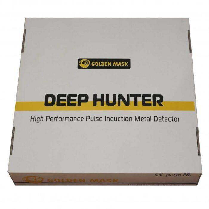 Дълбочинен металотърсач Golden Mask Deep Hunter Pro 5 в комплект 125х125см + 58см и телескопичен стик + раница