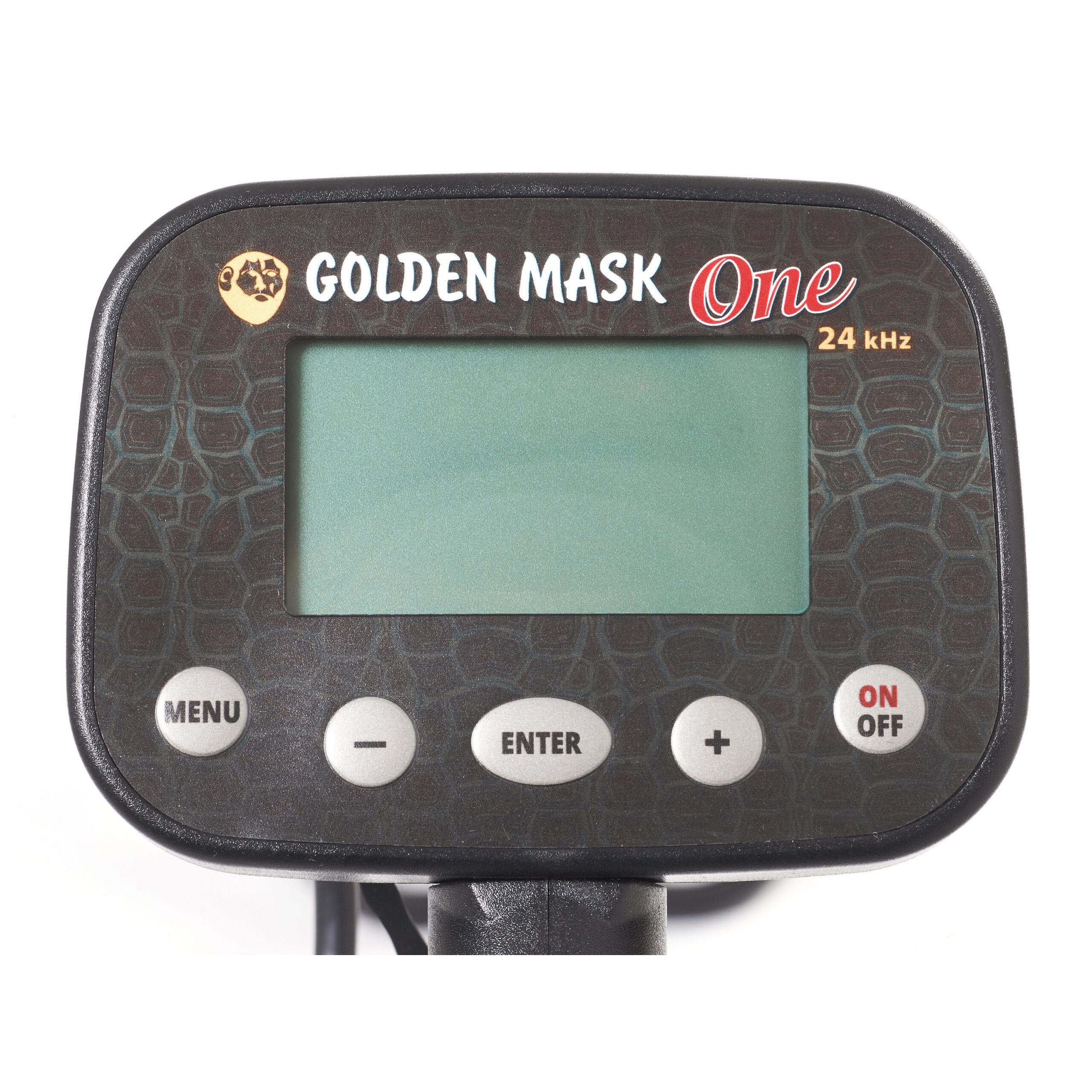 Металдетектор GoldenMask One 24kHz LITE