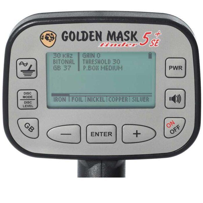 Металотърсач Golden Mask 5+ SE Platinum 15-30kHz LITE