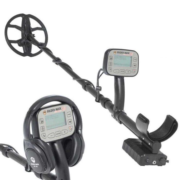 Металотърсач Golden Mask 5+ SE Platinum 15-30kHz с безжични слушалки