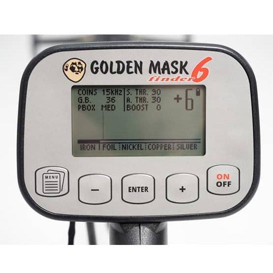 Металотърсач Golden Mask 6 със зарядно