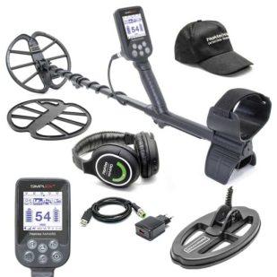 Металотърсач Nokta Makro Simplex с безжични слушалки и сонда 24x13cm