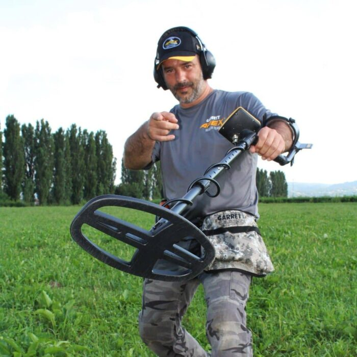 Металотърсач Garrett APEX с безжични слушалки и сонда 33cm Ultimate